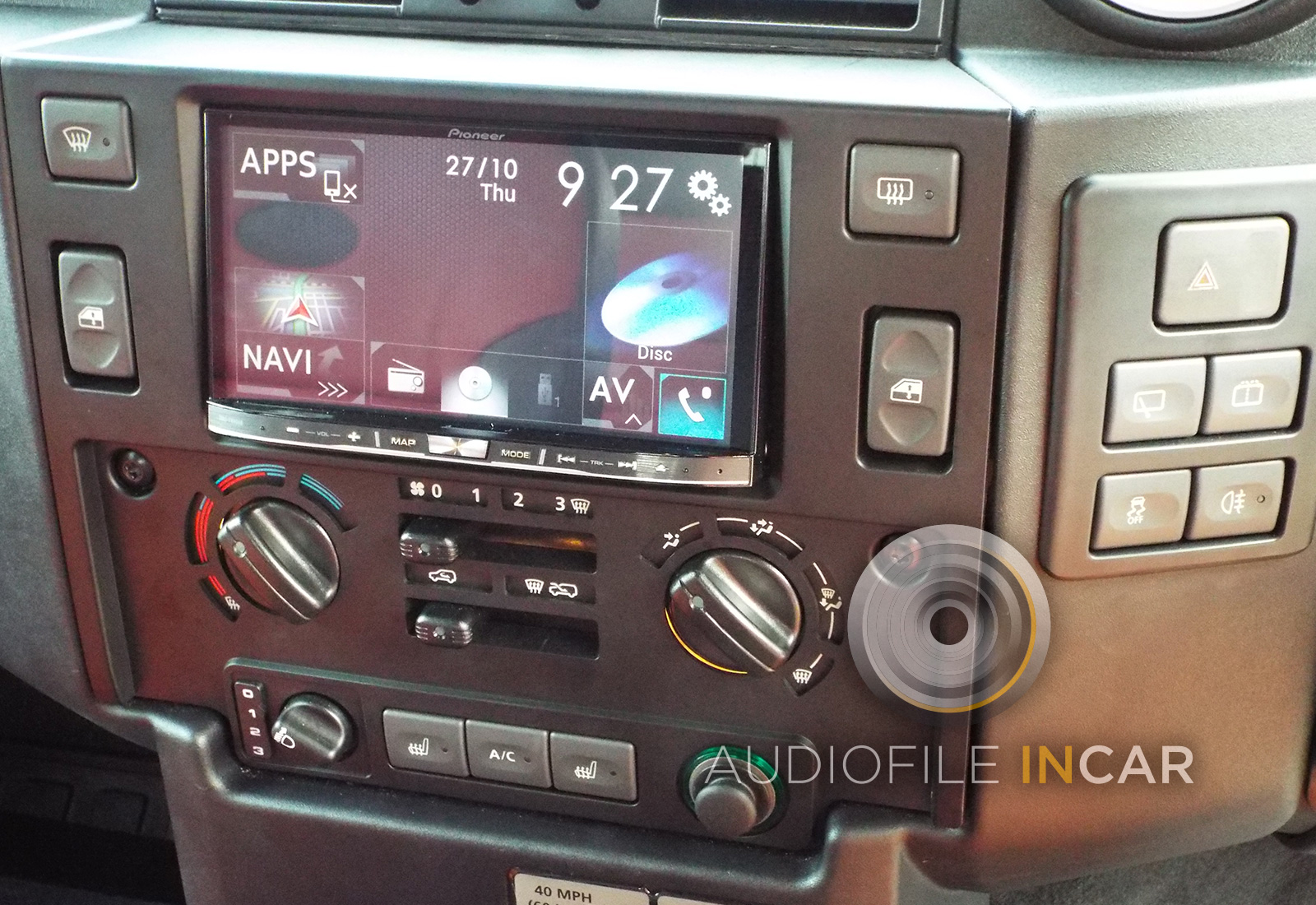 Land Rover Defender Double Din Conversions