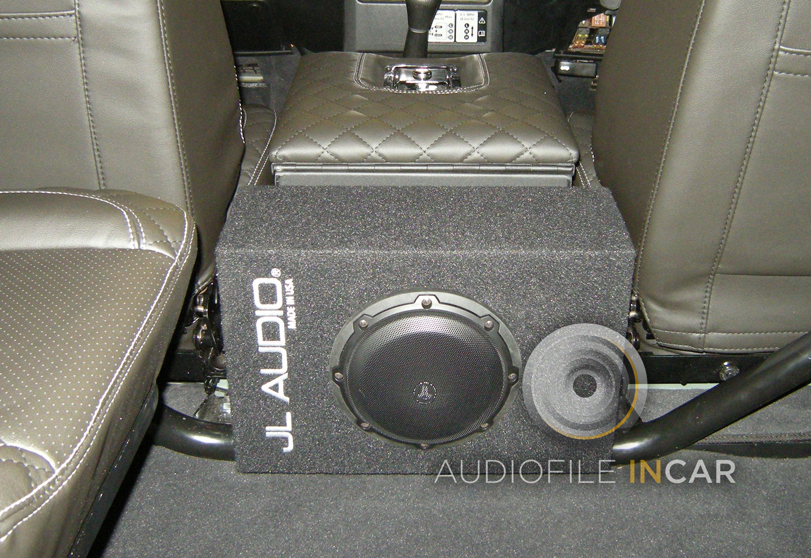 Land Rover Defender JL subwoofer premium audio upgrade