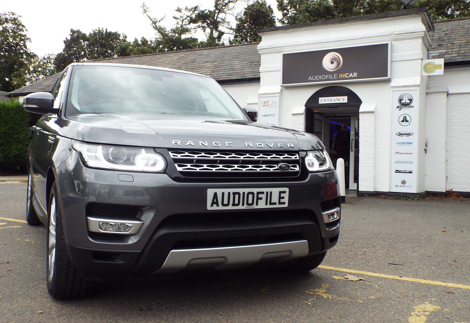 Range Rover Sport Premium Audio Upgrade