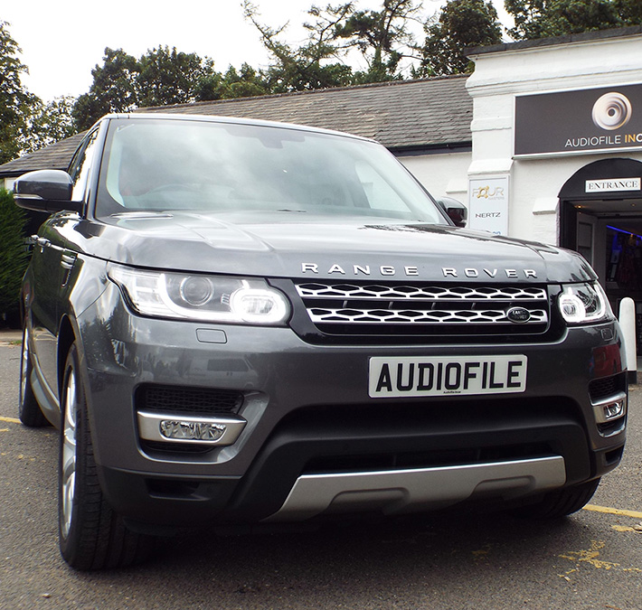Range Rover Sport Audio Upgrades