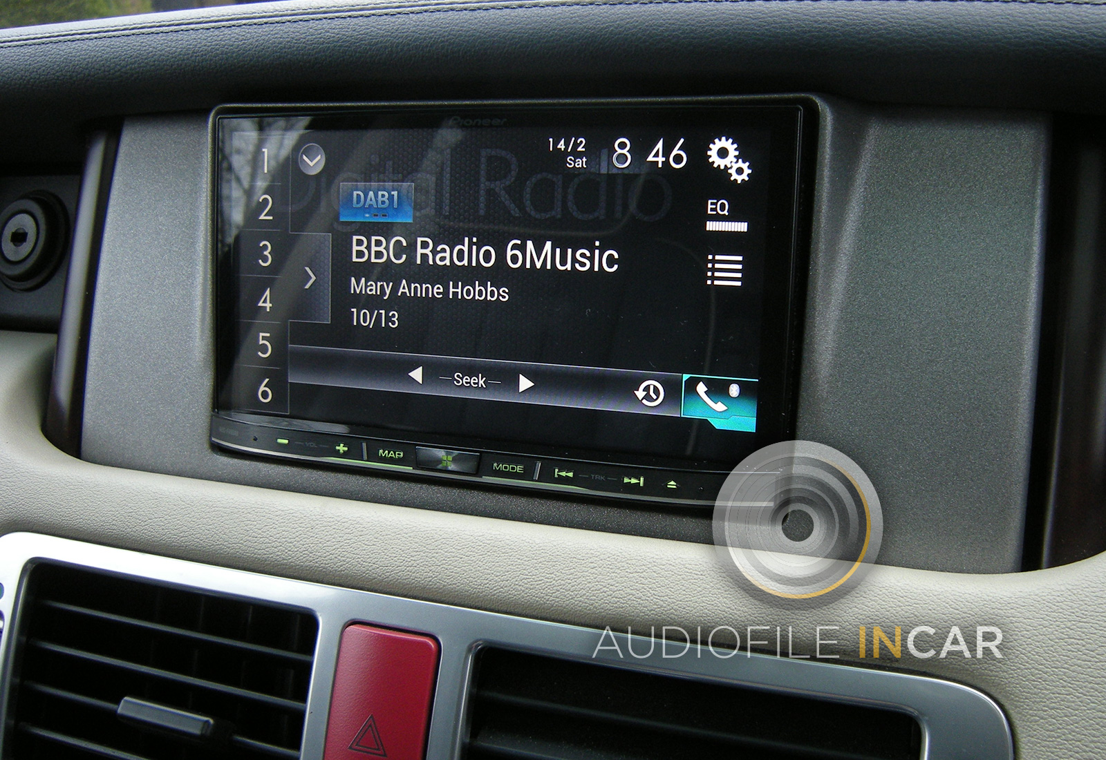 Range Rover Satalite Navigation Replacement Rpgrade Audiofile Incar